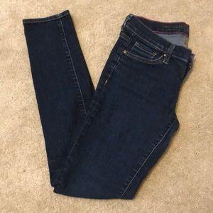Kate Spade Play Hooky Skinny Jeans 24